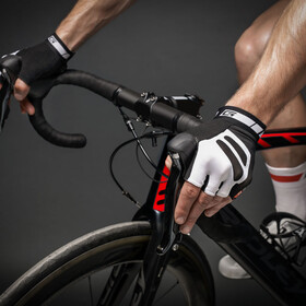 GripGrab WorldCup Short Cycling Gloves Black/White